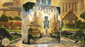 Настольная игра Tapestry. Stonemaier Games издает, Лавка Игр - локализирует!