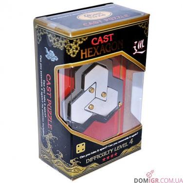 Шестиугольник 4* - головоломка
