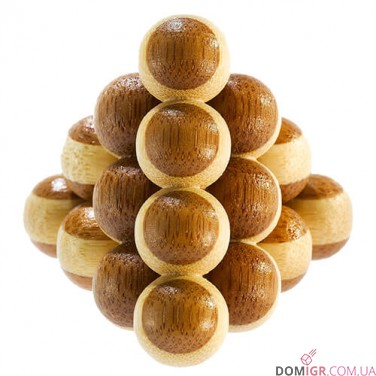 Cannon Balls Puzzle - бамбуковая головоломка