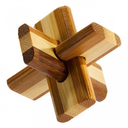Doublecross Puzzle - бамбуковая головоломка