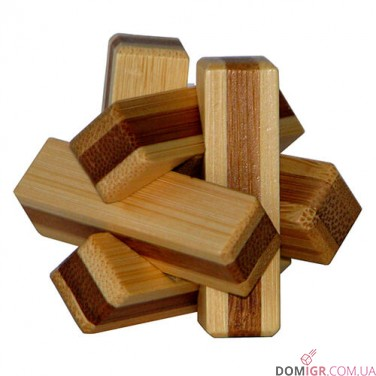 Firewood Puzzle - бамбуковая головоломка