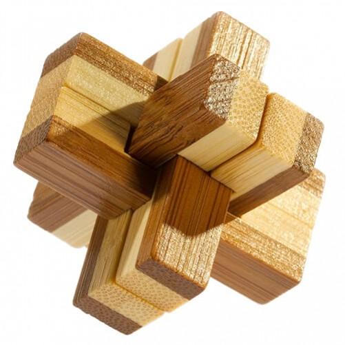 Knotty Puzzle - бамбуковая головоломка