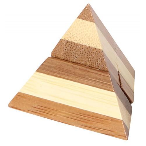 Pyramid Puzzle - бамбуковая головоломка