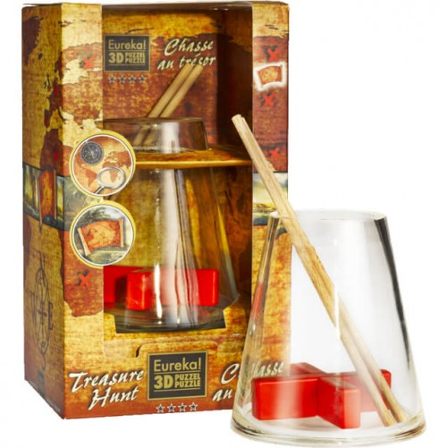 Treasure Hunt - головоломка в бутылке