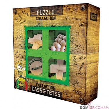 Junior Wooden Puzzles Collections