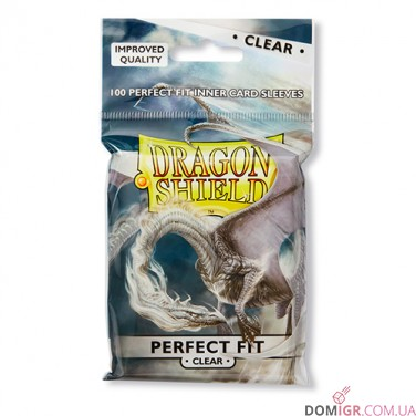 Dragon Shield Perfect Fit Toploader - Clear - Протекторы 100шт