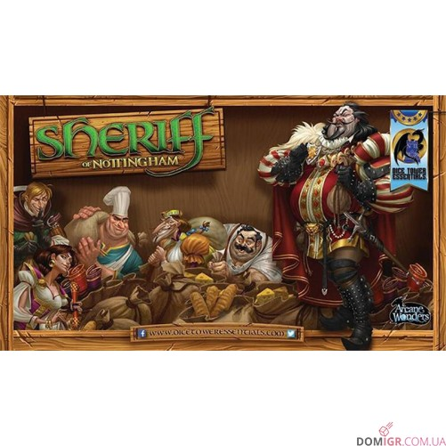 Sheriff of Nottingham Playmat