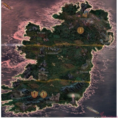 Война Миров. Ирландия