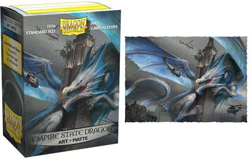 Dragon Shield Empire State Dragon - Matte Art (100шт) sleeves