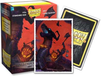 Dragon Shield Art Classic Halloween Dragon sleeves