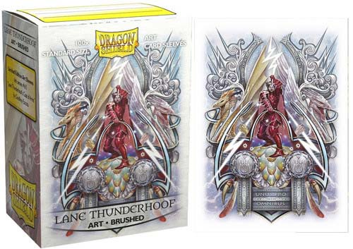 Dragon Shield Lane Thunderhoof: Coat-of-Arms - Brushed Art (100шт) sleeves