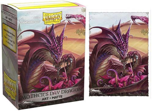 Протекторы Dragon Shield Mother's Day Dragon 2020 - Matte Art (100 шт) sleeves