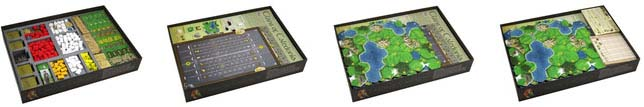Clans of Caledonia Insert - Folded Space