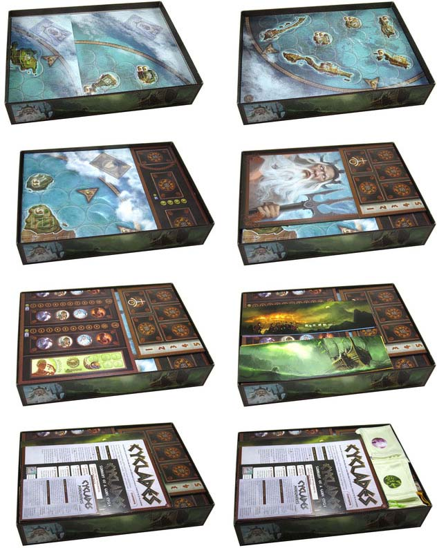 Cyclades Insert Folded Space