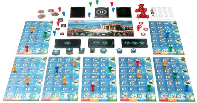 Дополнение 7 Wonders: Second Edition – Armada