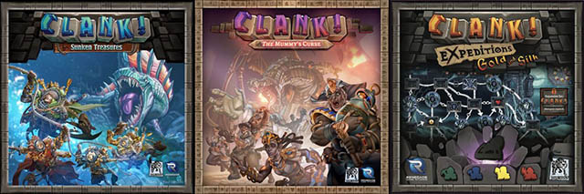 Дополнение Clank! Expeditions: Gold and Silk