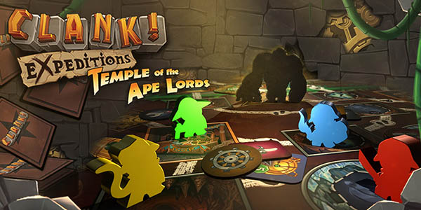 Дополнение Clank! Expeditions Temple of the Ape Lords