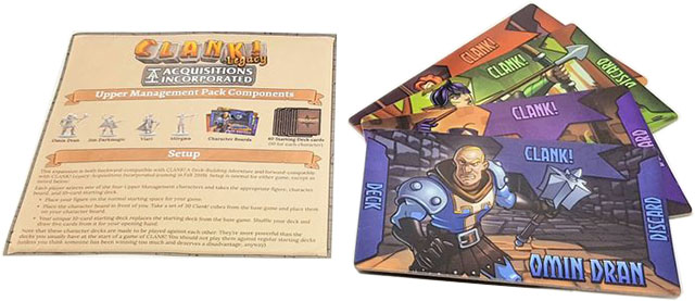 Дополнение Clank! Legacy: Acquisitions Incorporated – Upper Management Pack