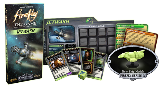 Дополнение Firefly The Game – Jetwash
