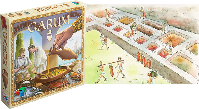 Купить настольную игру Garum