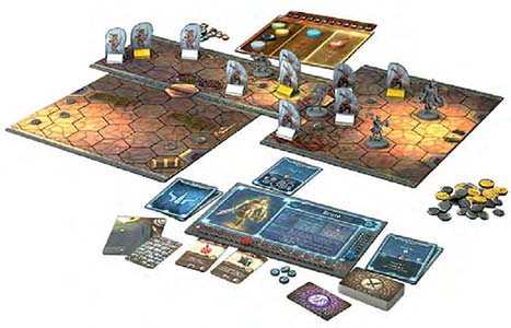 Настольная игра Gloomhaven 2nd edition