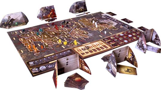 Настольная игра A Game of Thrones - The Board Game: Second Edition