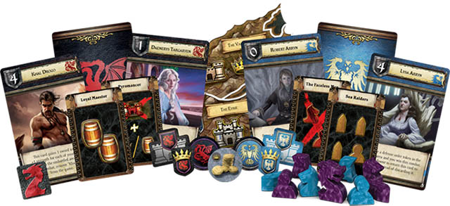 Дополнение A Game of Thrones - The Board Game Second Edition. Mother of Dragons