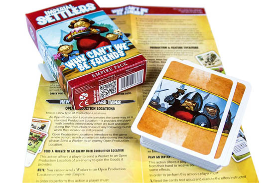Настольная игра Imperial Settlers: Why Can't We Be Friends, дополнение
