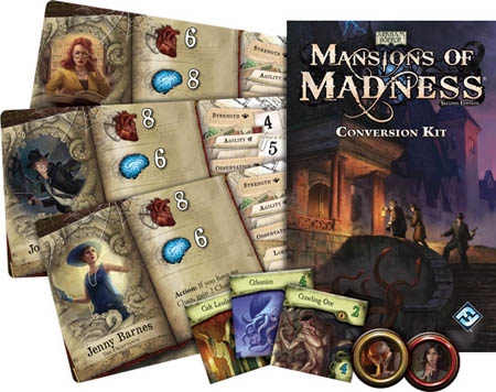 Настольная игра Mansions of Madness Second Edition