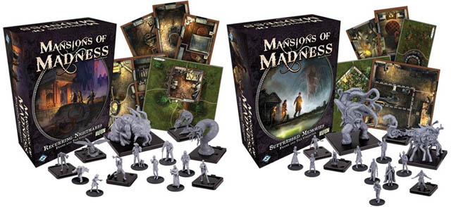 Настольная игра Mansions of Madness: Second Edition – Suppressed Memories – Figure & Tiles Collection, расширение
