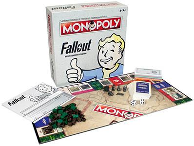 Настольная игра Монополия: Fallout