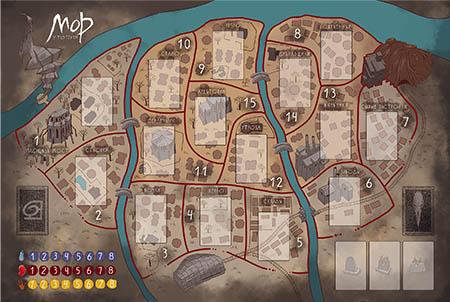 Настольная игра Мор: Утопия 2-я редакция