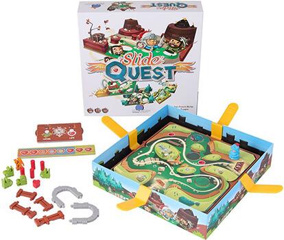 Настольная игра Slide Quest, Путь рыцаря