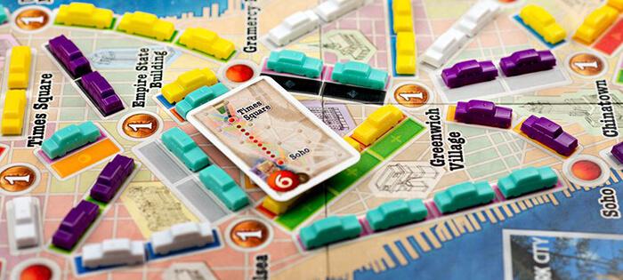 Настольная игра Ticket to Ride: New York