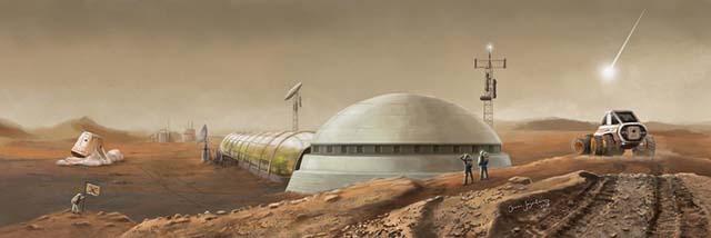 Дополнение Покорение Марса: Пролог