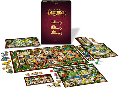 Настольная игра The Castles of Burgundy (20th Anniversary)