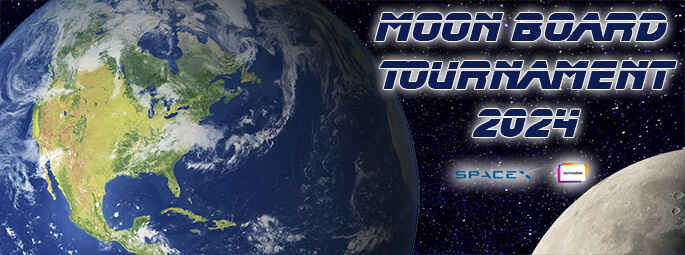 Moon board turnament