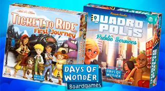 Ticket To Ride First Journey Days Of Wonder