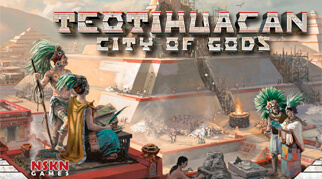 Игра Teotihuacan: City of Gods