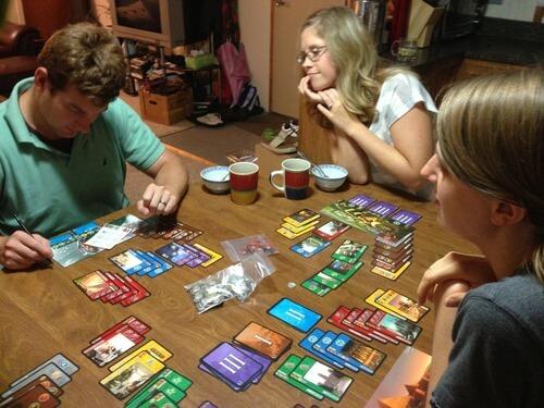 Настольная игра семейная 7 Чудес