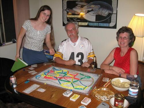 Семейная настольная игра Ticket to Ride
