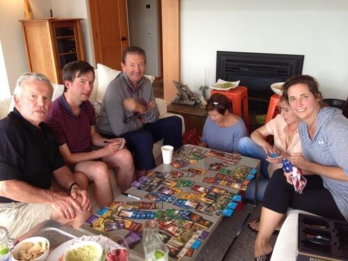 Настольная семейная игра 7 Wonders